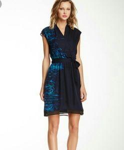 Elie Tahari Cadence Silk Dress
